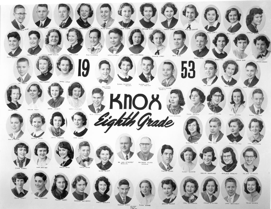 Knox Grade School Starke County Historical Photos Documents